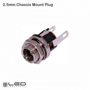 2.5mm Chassis Mount DC Plug