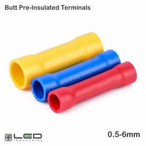 Butt - Pre-Insulated Terminals