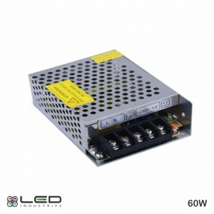 12V - 60W - Power Supply
