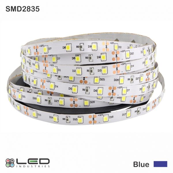 2835 - Blue - 60 LEDs/m - 4.8W/m