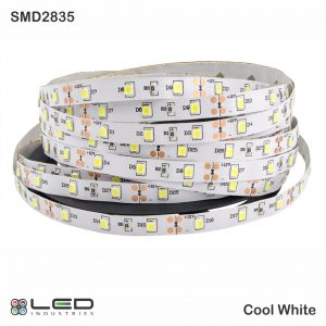 2835 - Cool White - 60 LEDs/m - 4.8W/m