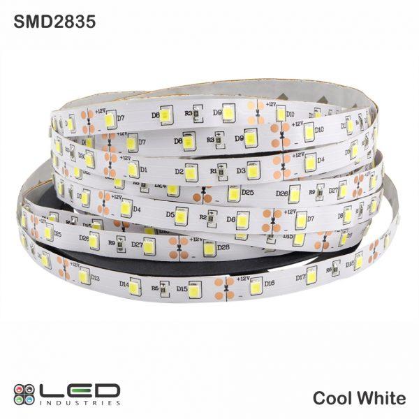 2835 - Cool White - 60 LEDs/m - 4.8W/m
