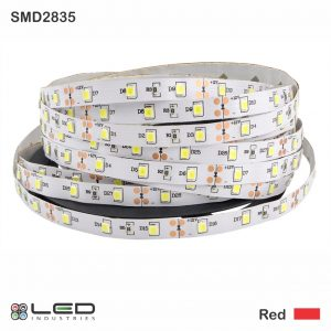 2835 - Red - 60 LEDs/m - 4.8W/m