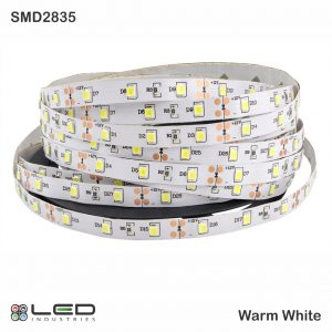 2835 - Warm White - 60 LEDs/m - 4.8W/m