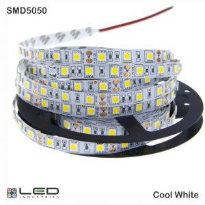 5050 - Cool White - 60 LEDs/m - 14.4W/m