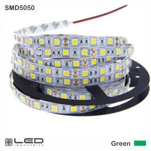 5050 - Green - 60 LEDs/m - 14.4W/m