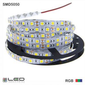 5050 - RGB - 60 LEDs/m - 14.4W/m