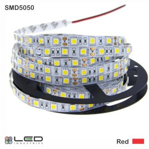 5050 - Red - 60 LEDs/m - 14.4W/m
