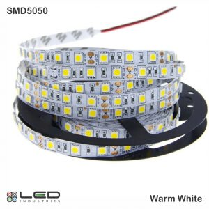 5050 - Warm White - 60 LEDs/m - 14.4W/m