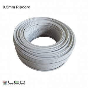 0.5mm Ripcord, twincore, two-core,