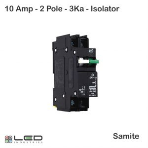 Isolator Combo 10A 2Pole 3Ka