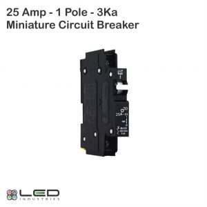 Miniature Circuit Breaker - 25A - 1Pole - 3Ka