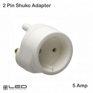5Amp 2Pin Shuko Adaptor