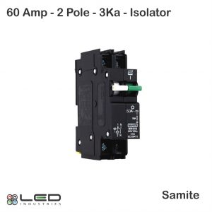 Isolator Combo 60A 2Pole 3Ka