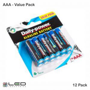 Daily Power - Alkaline Battery - AAA Value Pack