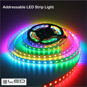 Addressable LED Strip Light - 60 LEDs/m - 18W/m