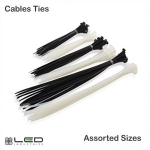 Cable Ties - Assorted Sizes, Colours and Lengths