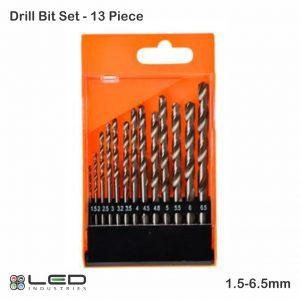HSS Drill Bit Set - 13 Piece