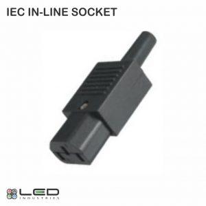 SOCKET IEC IN-LINE RE-WIRE KETTLE PLUG - FEMALE