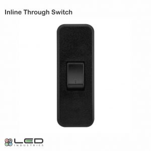 Inline Through Switch Black