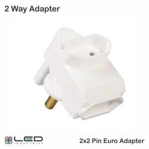 2 Way - 2 Pin Euro Adapter