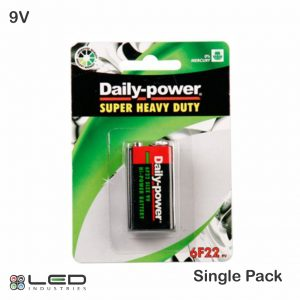 Daily Power - Battery - 9V - 1 Pack