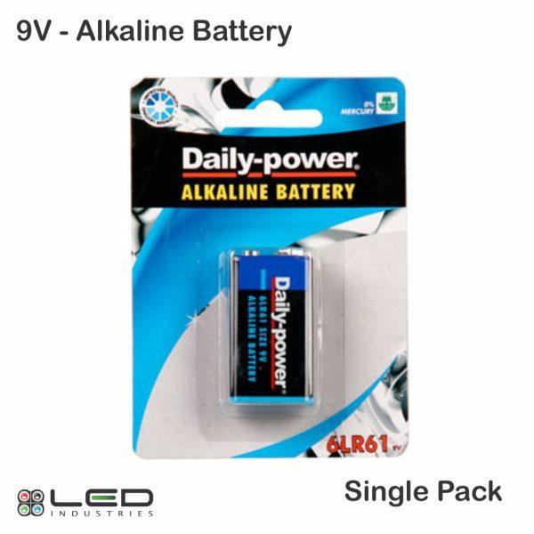 Daily Power - Battery - 9V Alkaline - 1 Pack