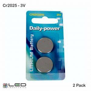 CR2025 - 3V - 2 Pack