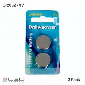 CR2032 - 3V - 2 Pack