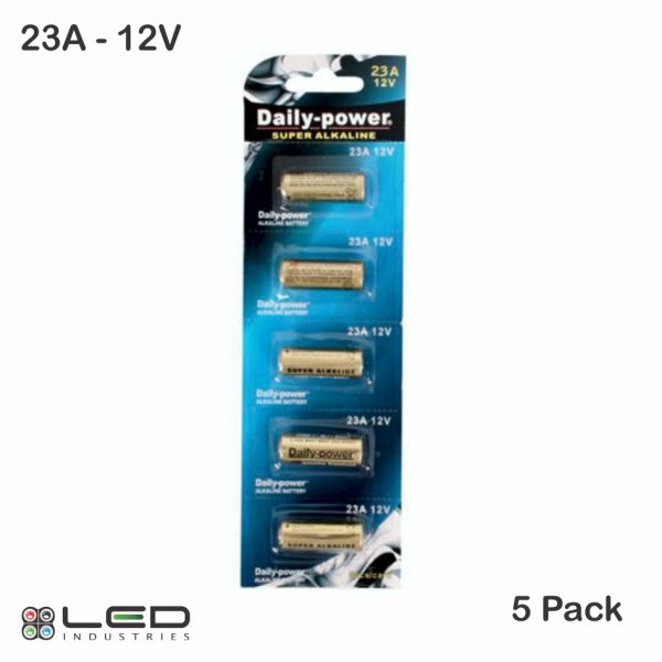 Daily Power - 23A - 12V - 5 Pack