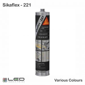 Sikaflex 221 - Strong Adhesive Sealant - Various Colours