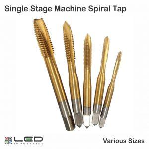 Singe Stage Spiral Machine Tap - M5 M6 M8 m10