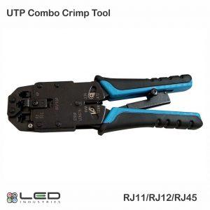 UTP Combo Crimping Tool - RJ45, RJ11, RJ9