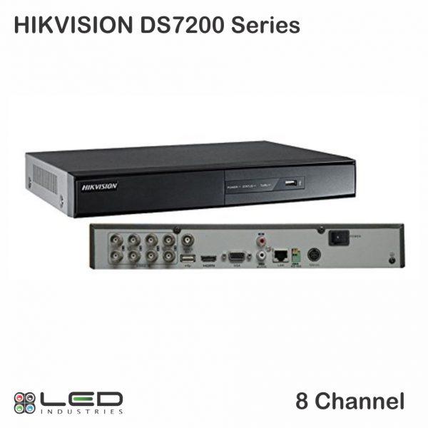 Hikvision 7200 - 8 Channel - Front- Back