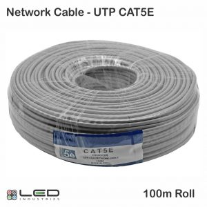 Network Cable - UTP Cat 5 - 100m