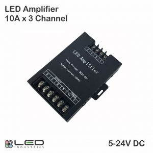 LED RGB Amplifier 10A x 3 Channel