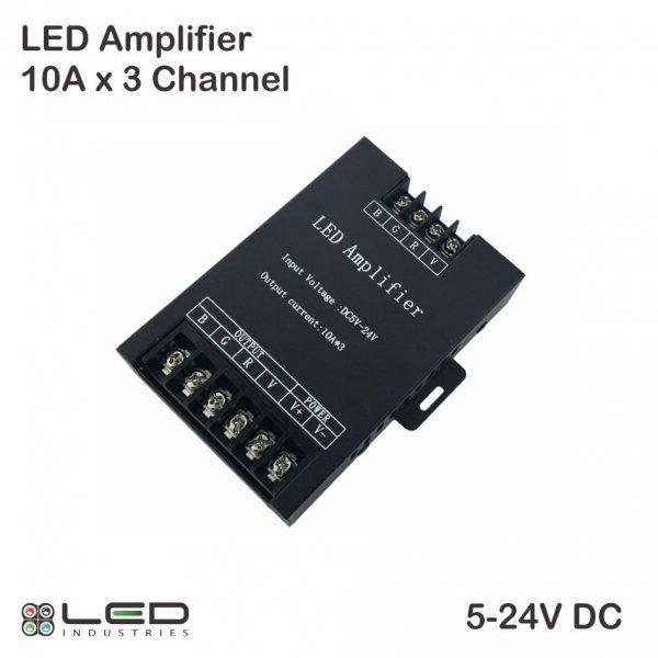 LED RGB Amplifier 10A x 3 Channel
